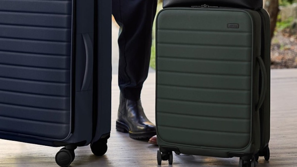 Away Travel The Expandables Nylon Luggage Collection gives you 1.75″ of extra space