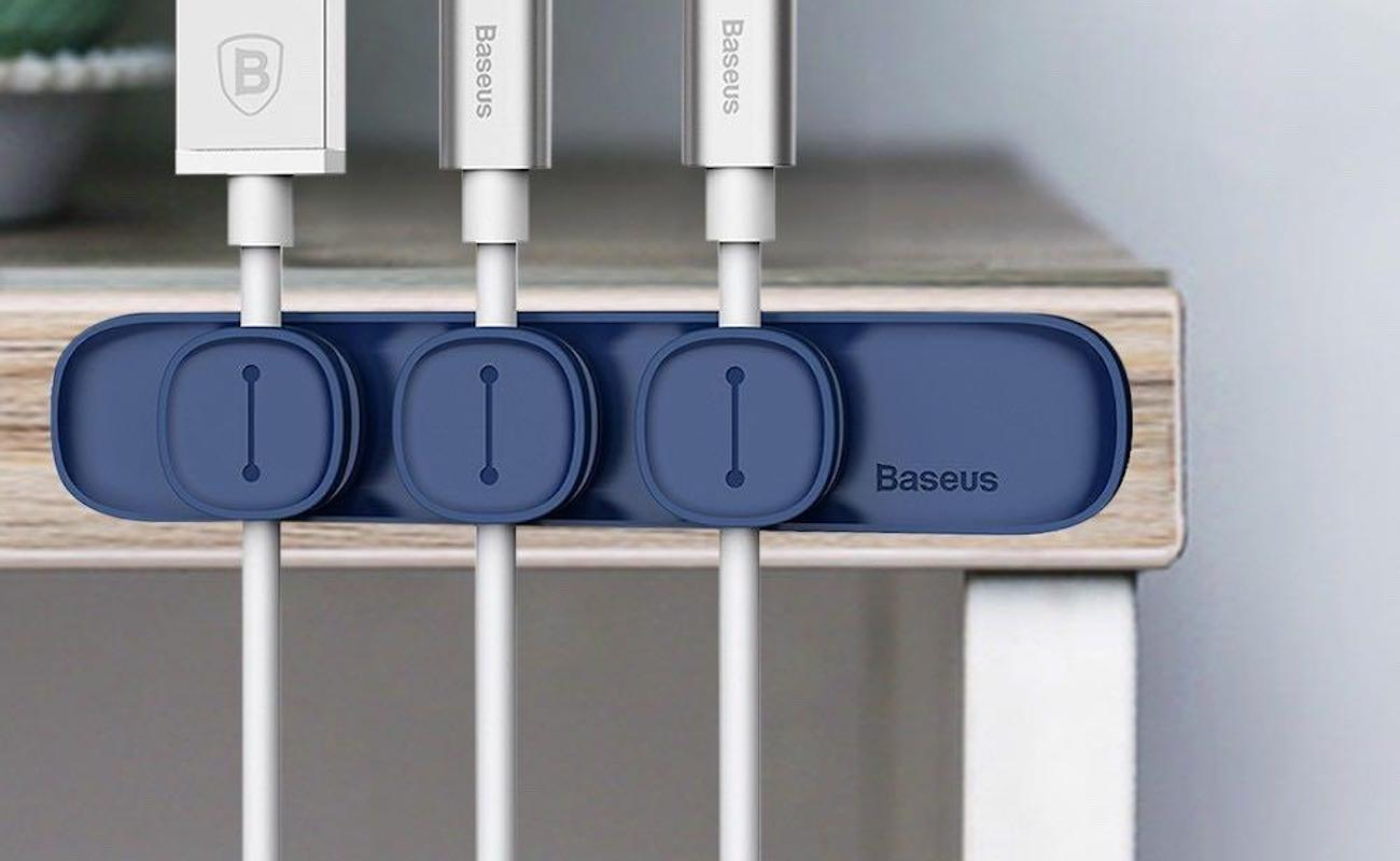 Baseus Magnetic Cable Organizer keeps your cords where you want them