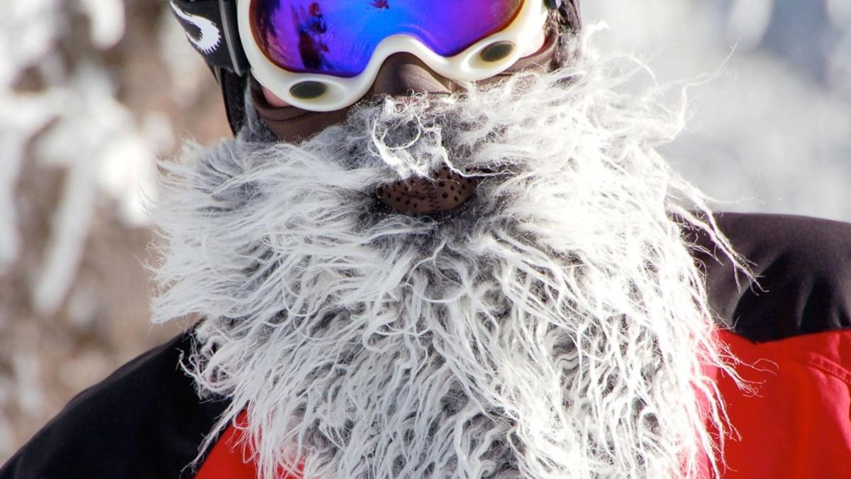 Beardski Bearded Ski Mask gives you the facial hair of your dreams