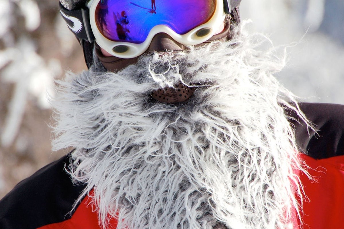 Beardski Bearded Ski Mask gives you the facial hair of your dreams