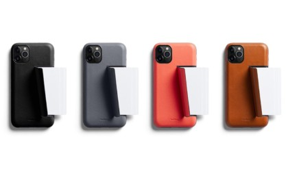 Bellroy's iPhone 11 Pro Wallet Case comes in modern colors