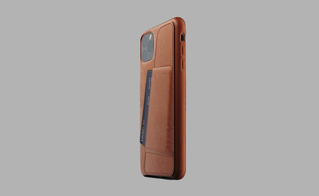 Mujjo's iPhone 11 Pro Wallet Case features luxurious leather