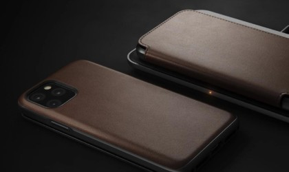 This iPhone 11 Pro wallet case has a folio design