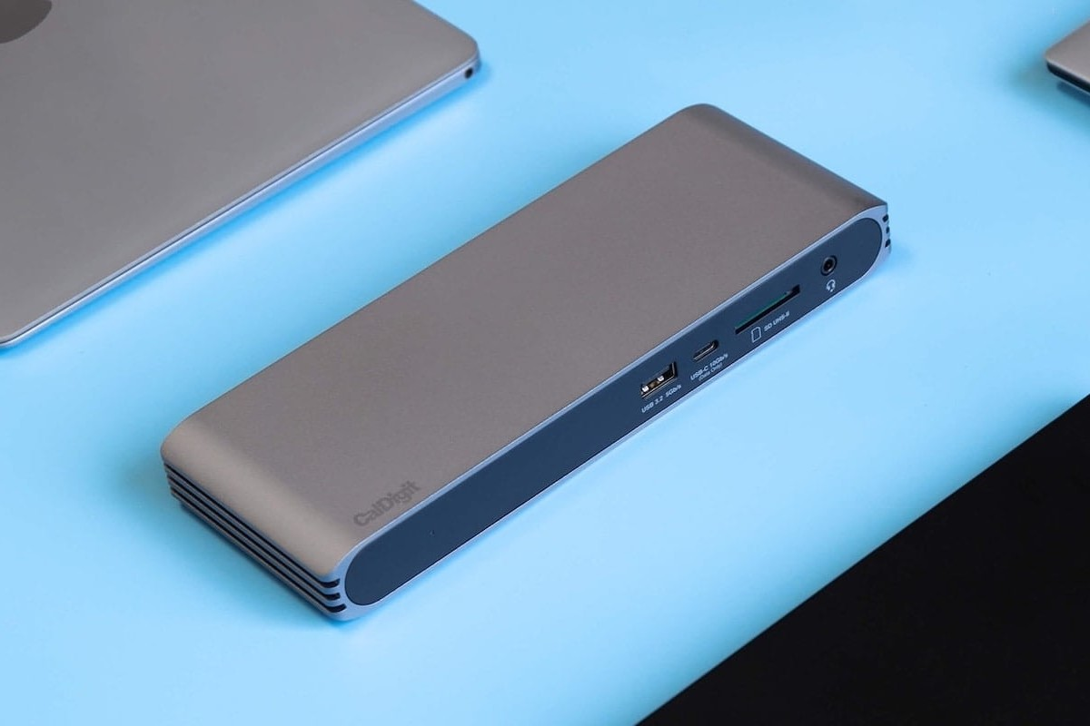 CalDigit USB-C Pro Dual-Monitor Dock connects your laptop to two 4K displays