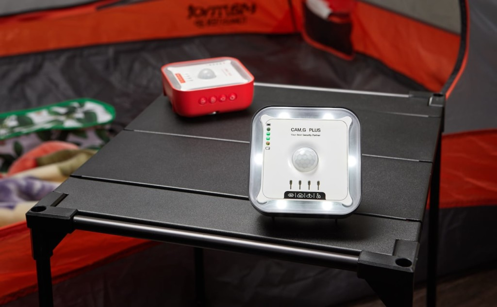 camping security gadget to warn you of intruders