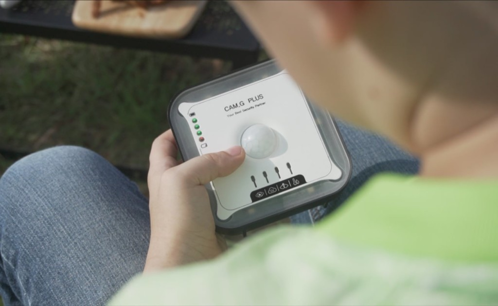 camping security gadget is easy to use
