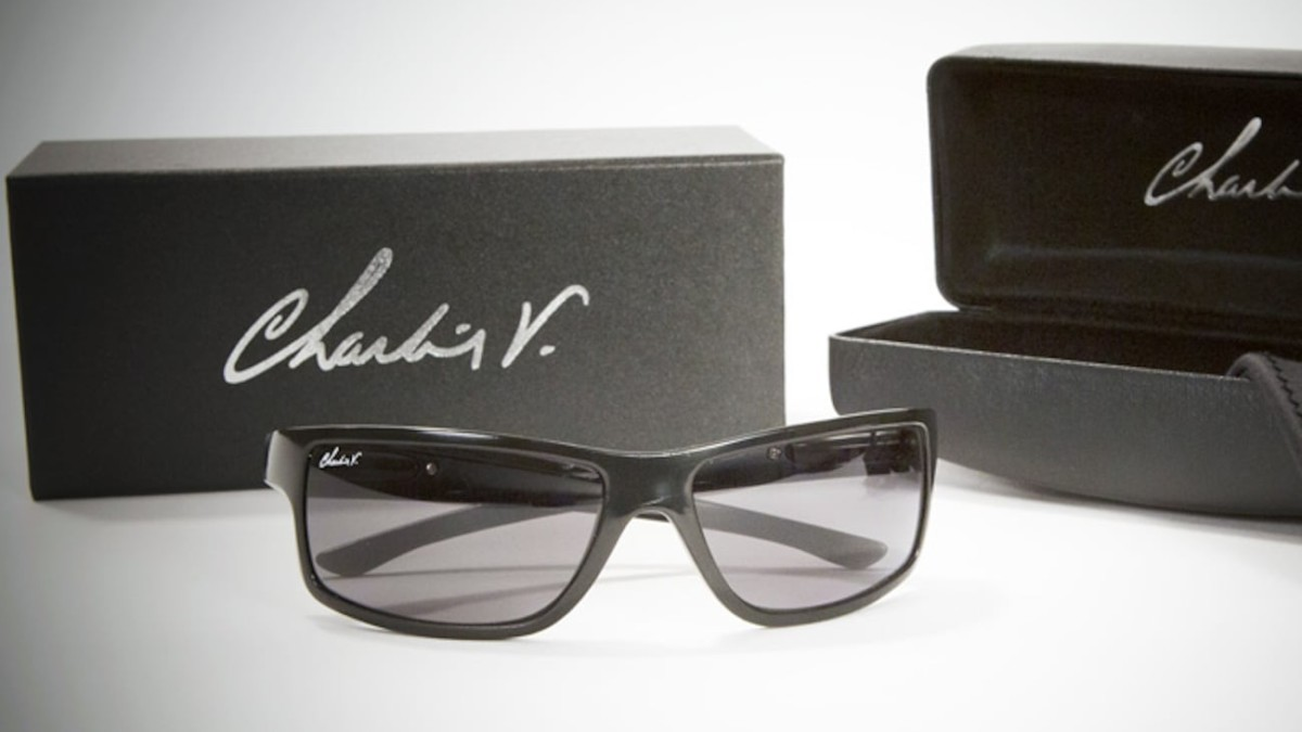 Charlie V Twisting-Hinge Sunglasses pivot to take up even less space in your pocket