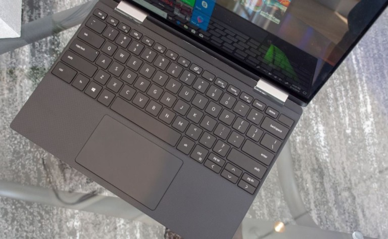 """Dell 2019 Edition XPS 13 2-in-1 Convertible <em class=""""algolia-search-highlight"""">Laptop</em> has a large 13.4-inch display"""
