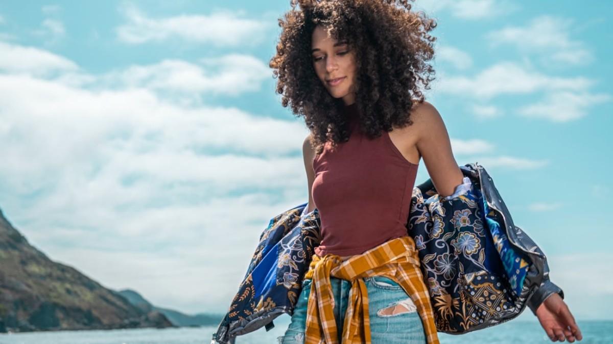 Dhana Circular Memory Jacket upcycles your favorite garments