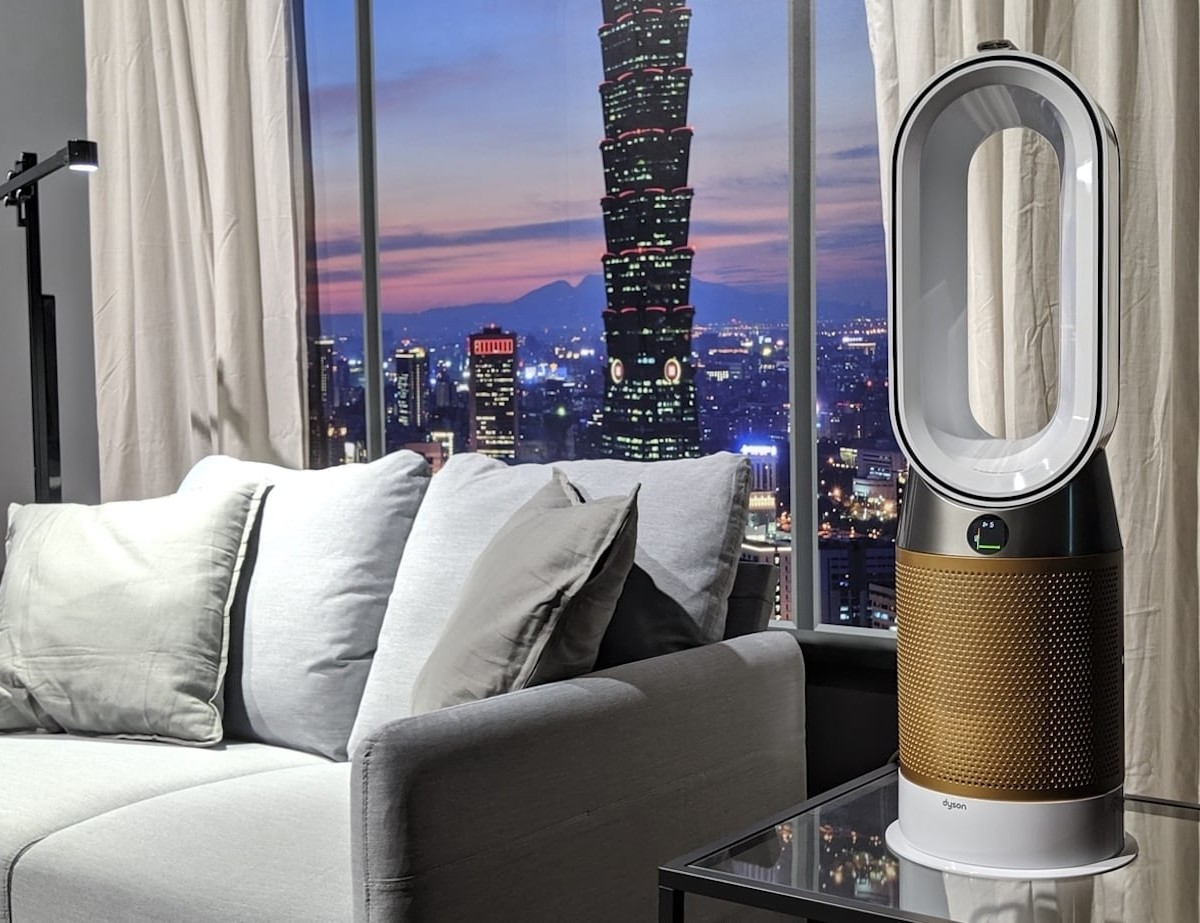 Dyson Pure Cryptomic Wi-Fi Air Purifiers continuously destroy formaldehyde in a space