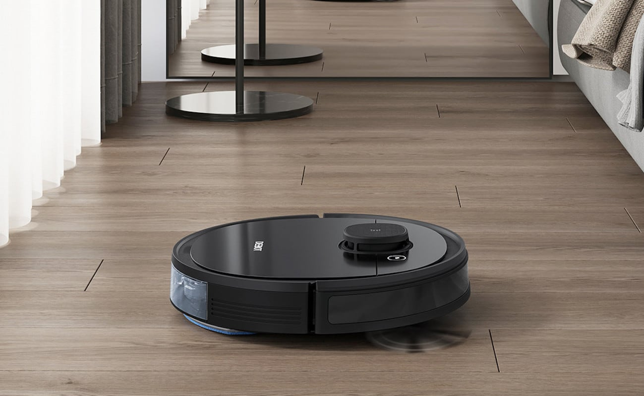 ECOVACS DEEBOT OZMO 950 Robot Vacuum Mop has up to 200 minutes of battery life