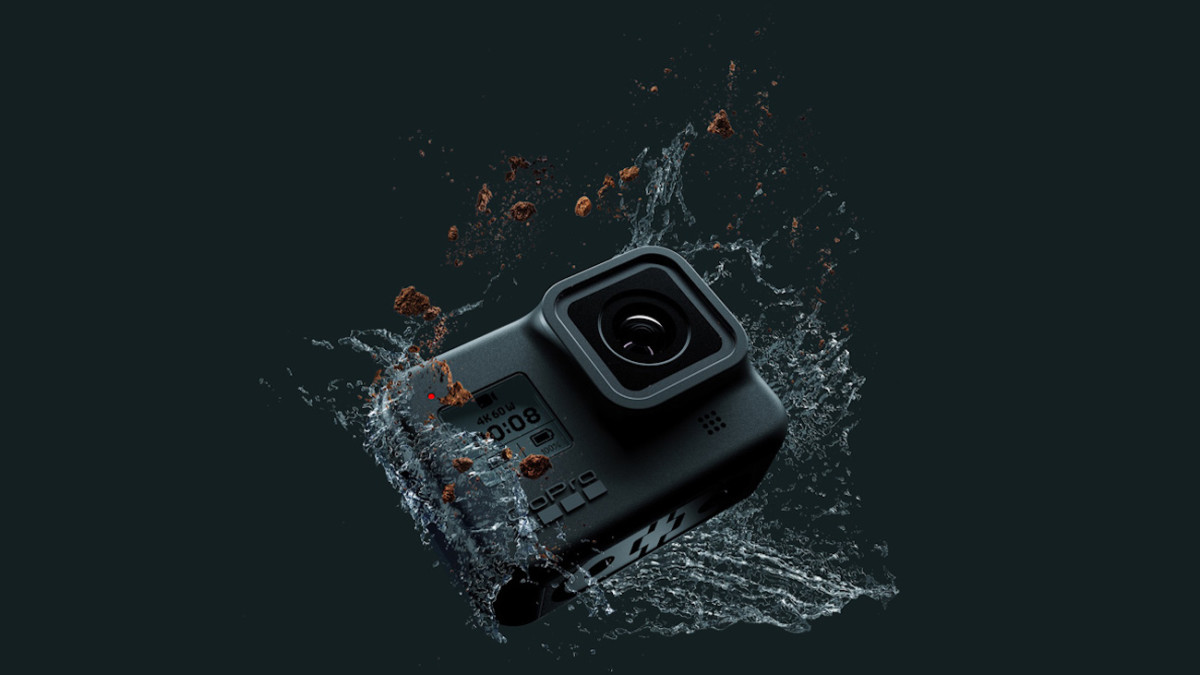 GoPro Hero8 Black Action Camera seriously stabilizes with HyperSmooth 2.0