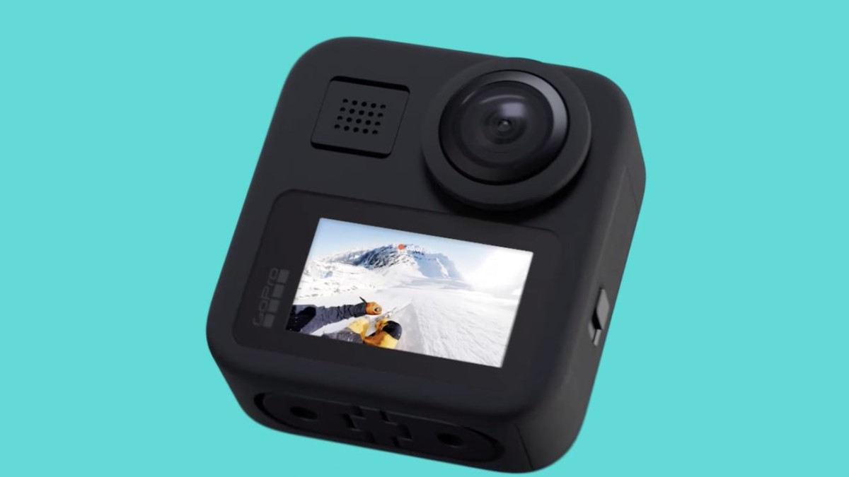 GoPro MAX 360º Camera includes three cameras in one