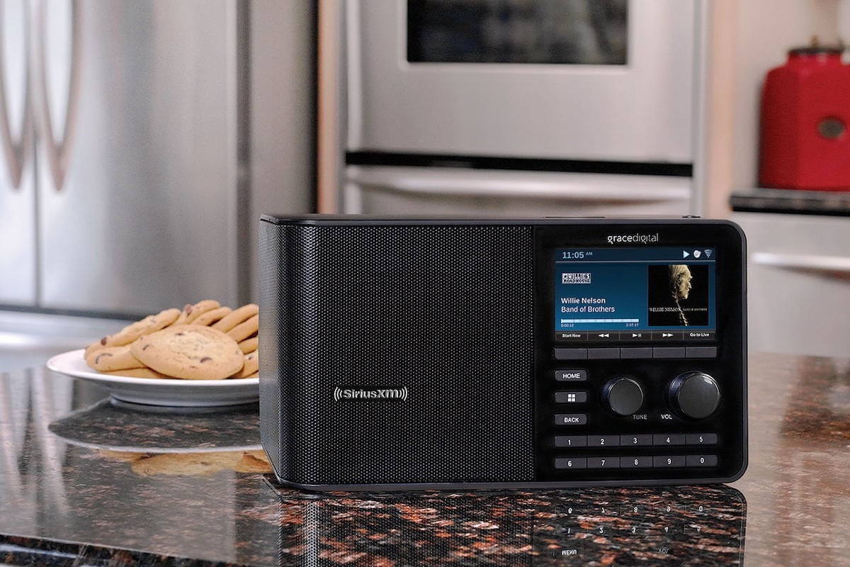 Grace Digital SiriusXM Internet Radio Sound Station gives you access to personalized channels