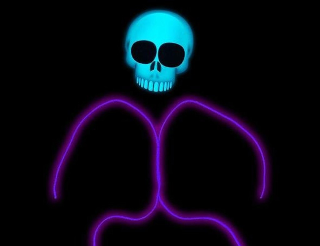 Halloween decorations - GlowCity Emoji Stick Figure Costumes
