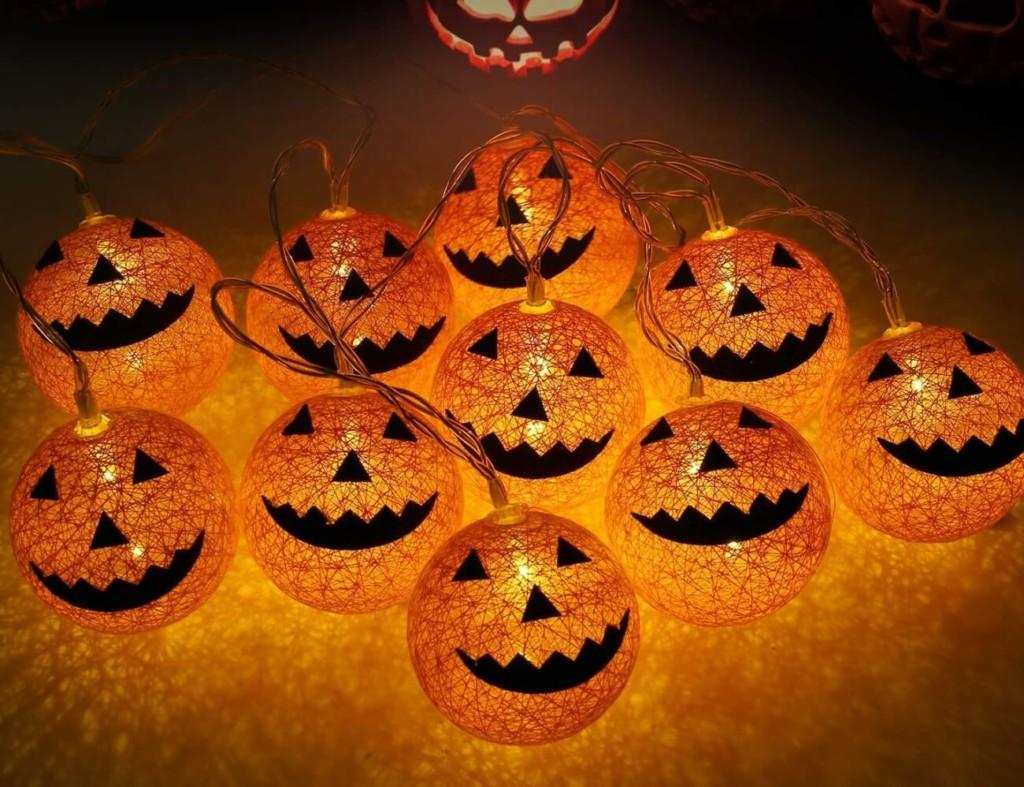 Halloween decorations - Halloween Pumpkin LEDs Lights Cropped