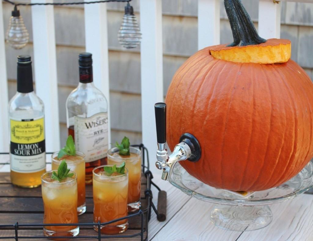 Halloween decorations - Pumpkin Tap Kit From KegWorks