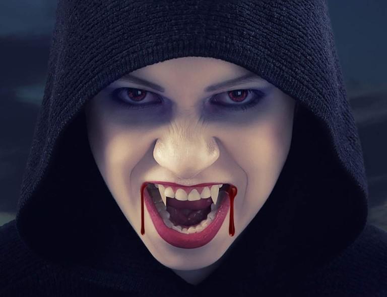 Halloween decorations - Vampire Teeth Cosplay Fangs