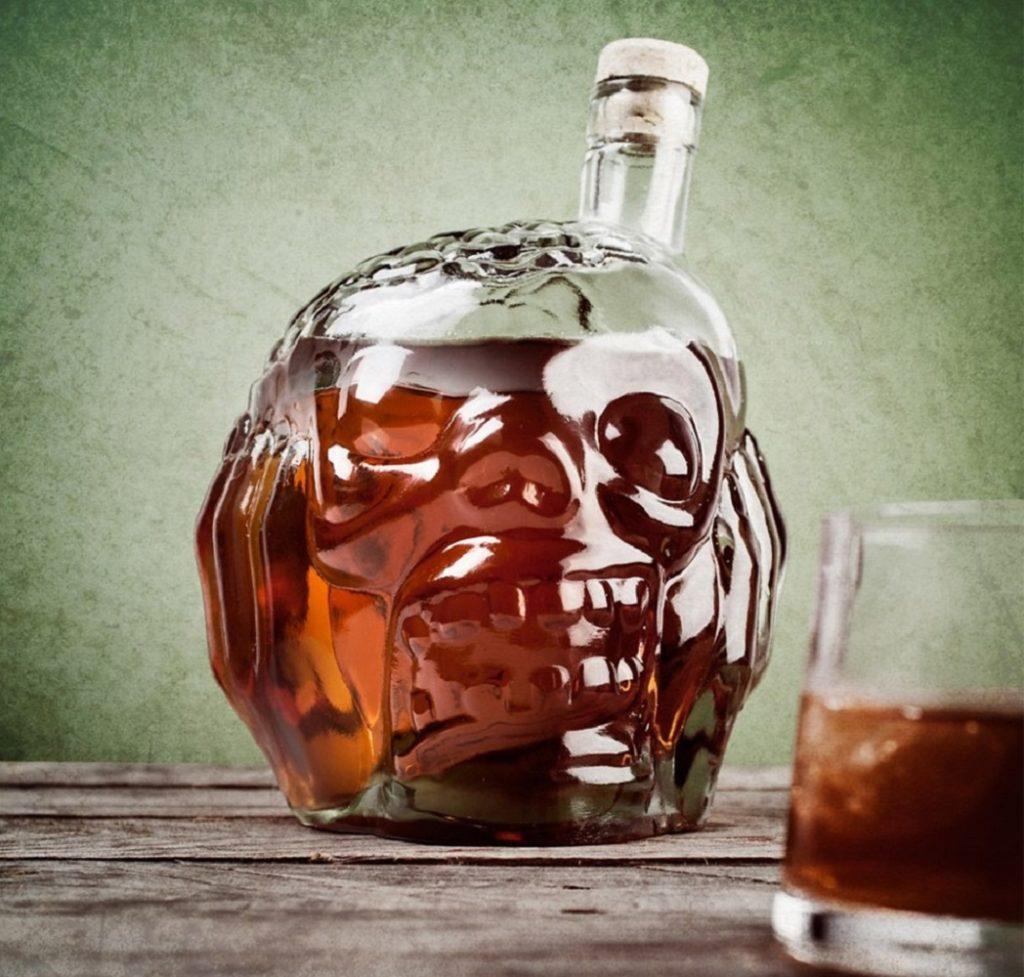 alloween decorations - Zombie Head Decanter