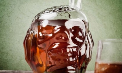 alloween decorations - Zombie Head Decanter