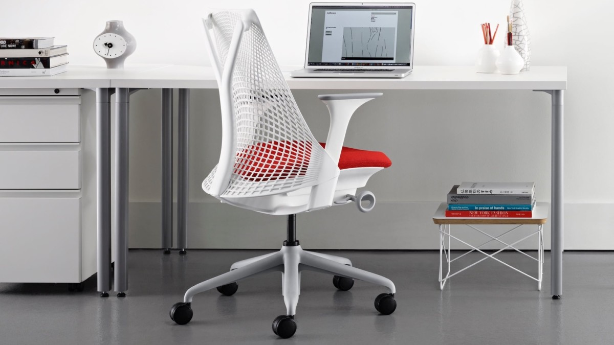 Herman Miller Sayl Customizable Office Chair is both comfortable and simply designed