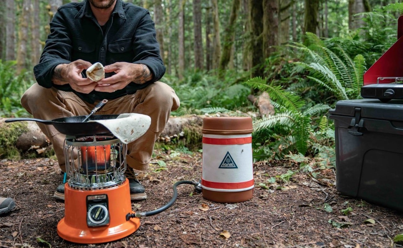 Ignik Gas Growler Refillable Propane Tank eliminates unnecessary waste on camping trips