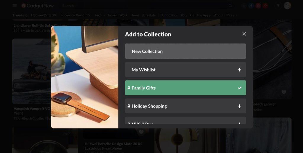 Improved Collections make it easier to organize your favorites