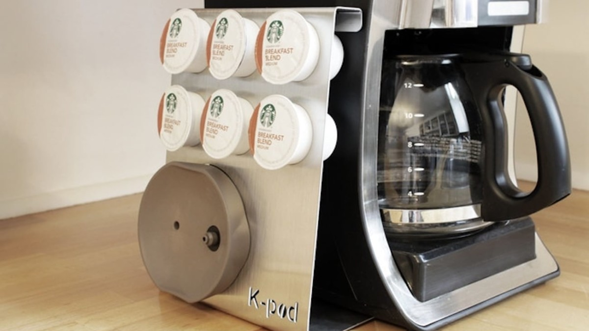 Joe Pod Coffee Machine Converter allows any coffee maker to work with K-Cups