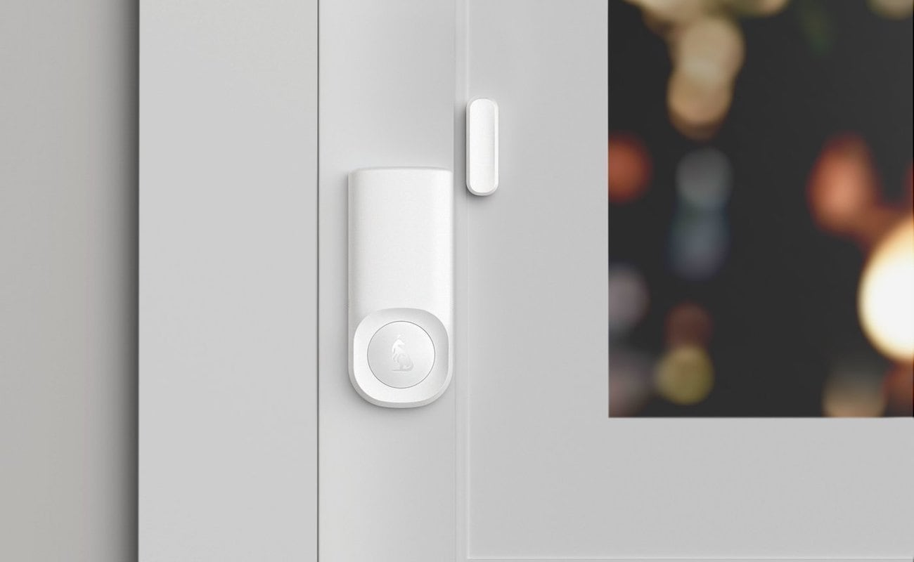 Home security device placed by a window