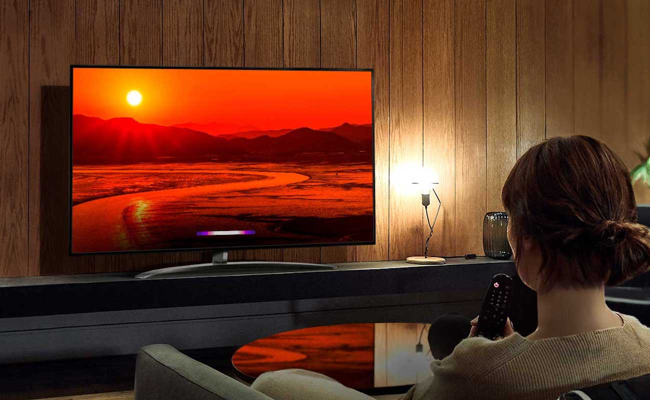 LG NanoCell TV 8K LED Television provides incredibly high-definition resolution