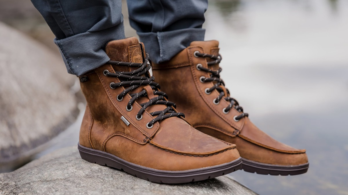 Lems Shoes Waterproof Boulder Boots Zero-Drop Shoes flexibly mimic the natural shape of your foot
