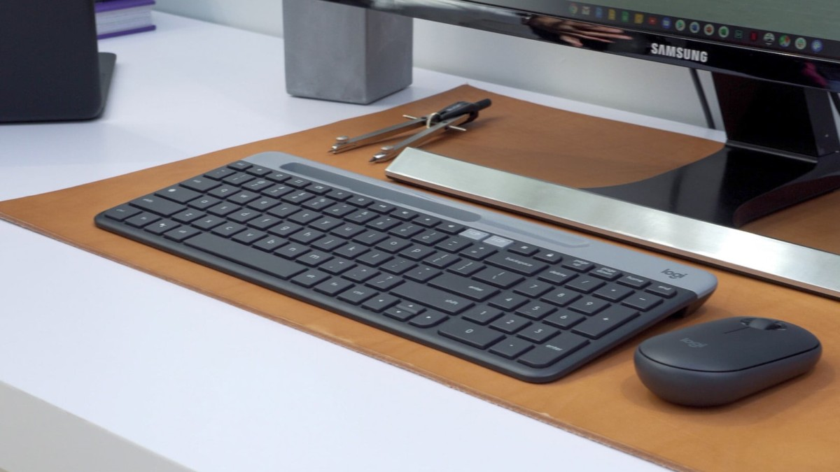 Logitech K580 Slim ChromeOS Keyboard is optimized for Chrome devices