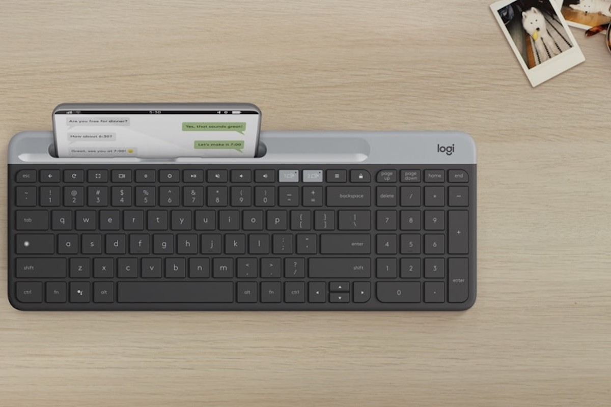 Logitech K580 Slim ChromeOS Keyboard is optimized for Chrome devices