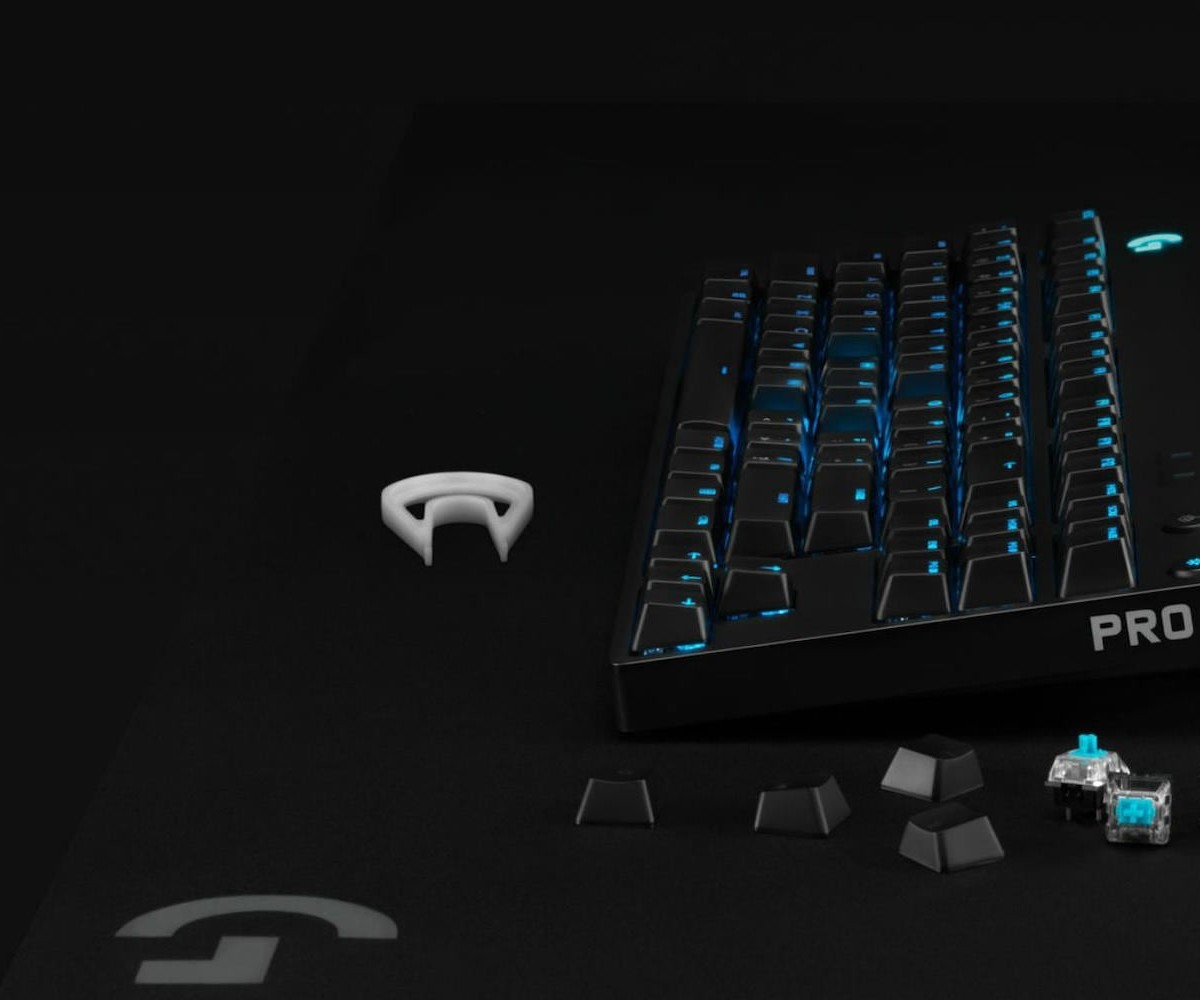 Logitech PRO X Switch Kit Customizable Gaming Keys let you choose the feedback style you want