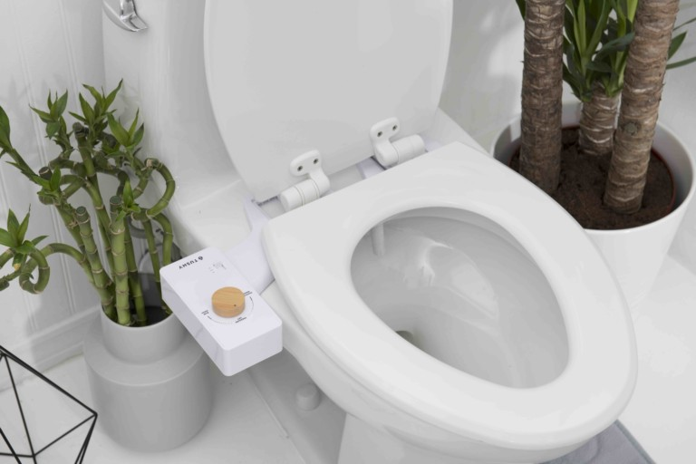 bathroom gadgets easy to use bidet attachment