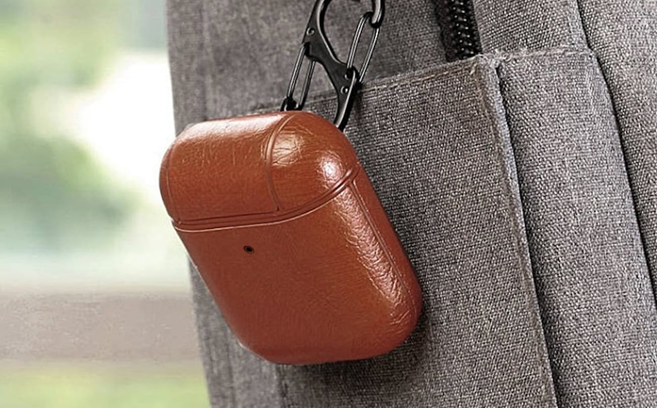 Luxury All-Leather AirPods Case combines style and performance