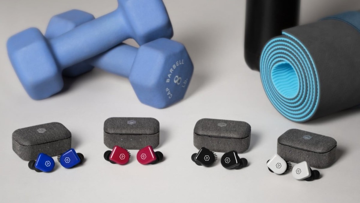 Master & Dynamic MW07 GO Lightweight Wireless Earphones are made from durable TR90 composite