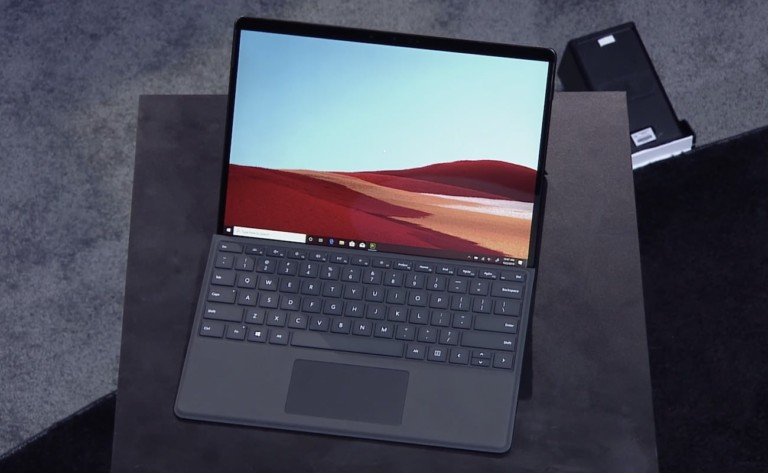 Microsoft Surface Pro X 2-in-1 Tablet comes with a new Surface Slim Pen