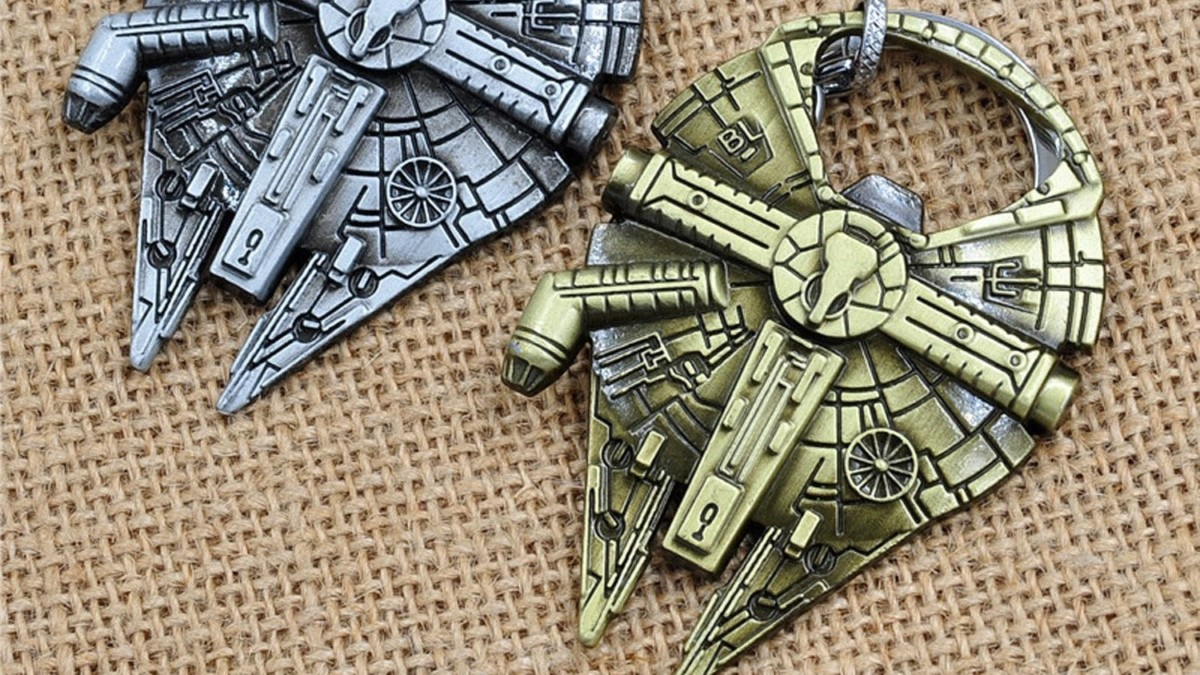Millennium Falcon Bottle Opener Keychain will make you the fastest cap popper in the galaxy