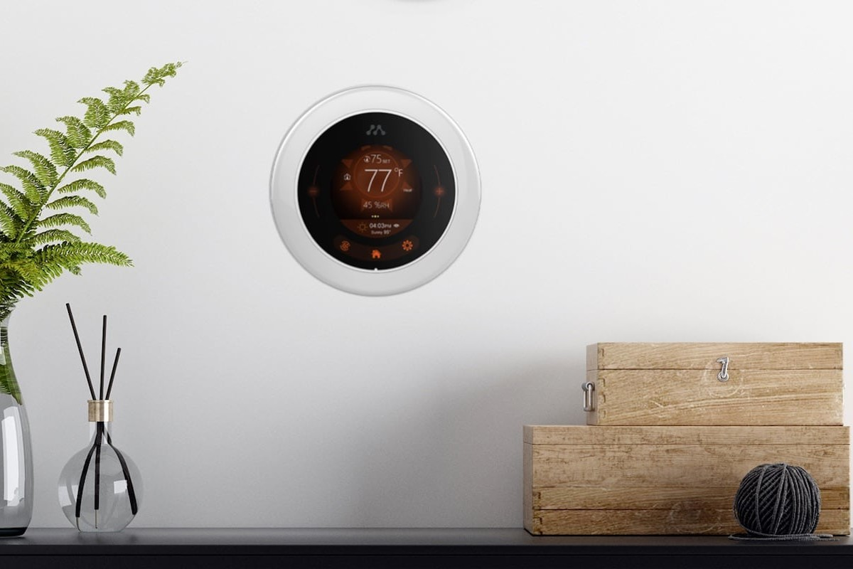 Momentum Meri Smart Wi-Fi Thermostat lets you remotely control your home temperature