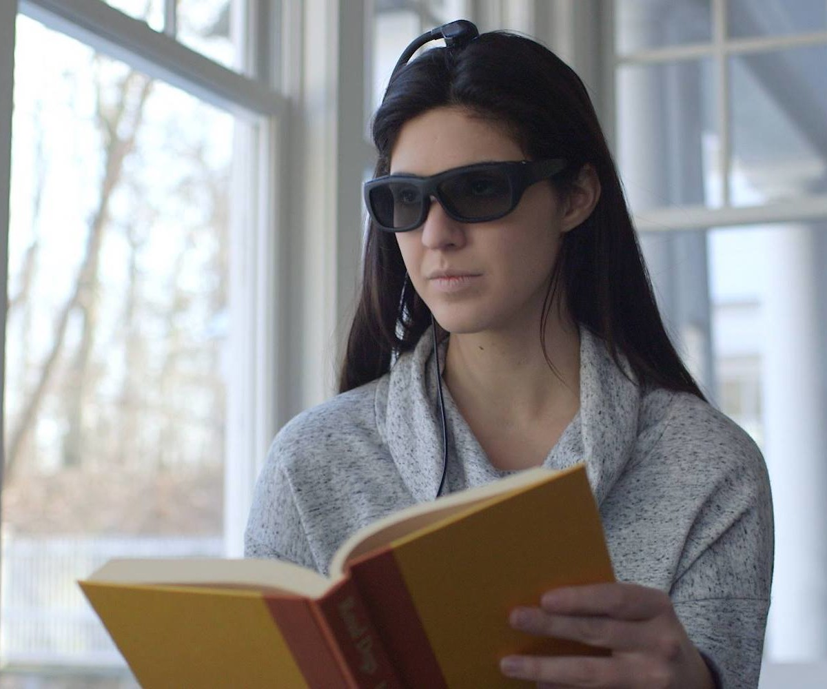 Narbis Brain-Training Glasses teach you how to focus on the task at hand