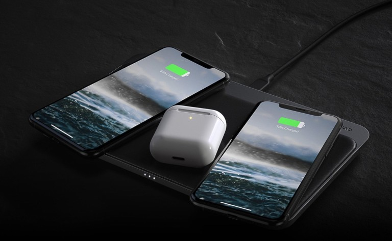 "Nomad Base <em class=""algolia-search-highlight"">Station</em> Pro 18-Coil wireless charger intelligently finds your device"