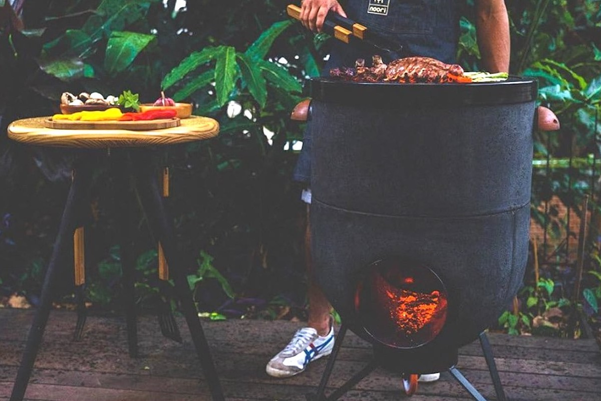 This Wood And Charcoal Burner Is The Coolest Outdoor Oven