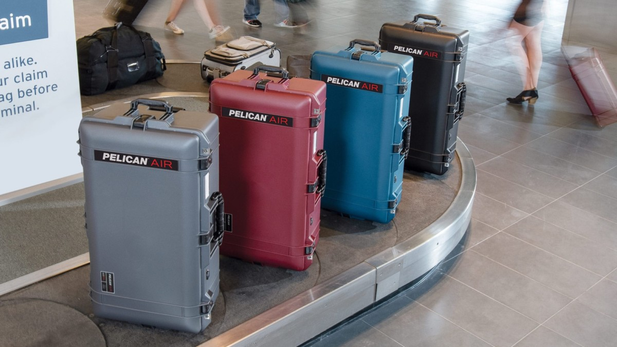 Pelican Air Travel Cases TSA-Approved Organizers keep your gear in its place