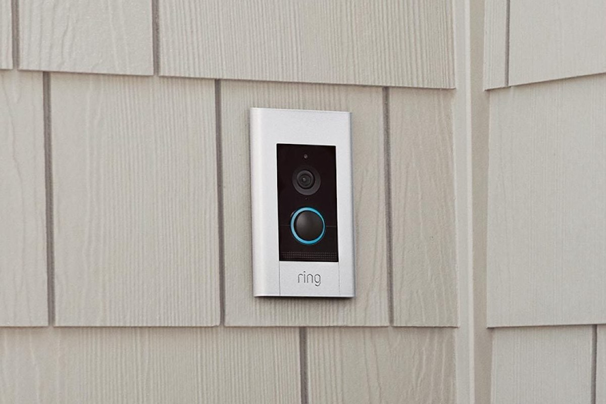 Ring Elite Video-Monitoring Doorbell maintains a secure power supply over Ethernet