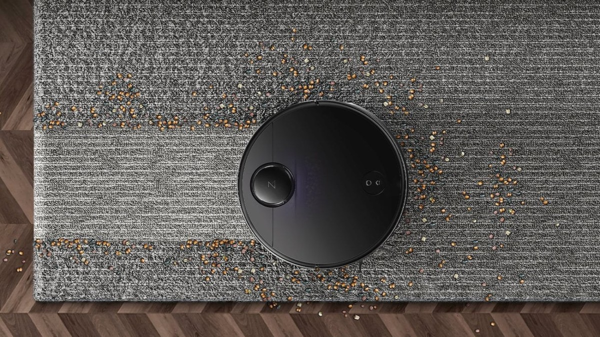 Roborock S4 Precise Robot Vacuum uses advanced mapping to navigate furniture
