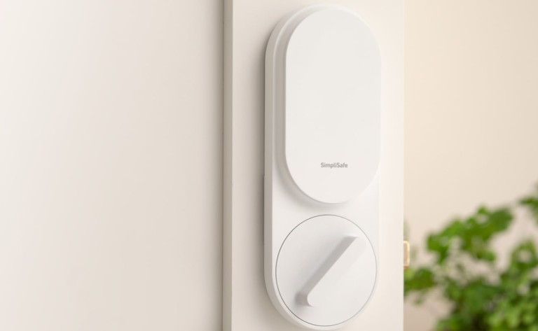 SimpliSafe Smart Automatic Timer Lock ensures your door is always secured