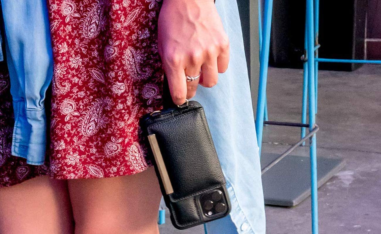 Smartish Dancing Queen Cross-Body iPhone 11 Case also holds your cards and cash