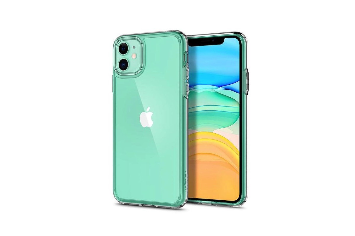 Spigen iPhone 11 Case Ultra Hybrid Clear Cover shows off your smartphone