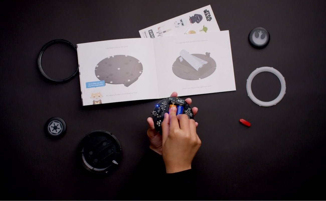 Star Wars the Force Coding Teaching Kit lets you create characters and adventures